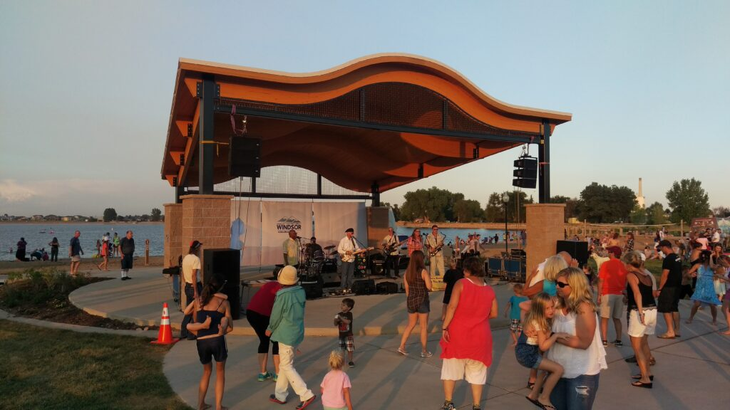Amphitheaters & Bandshells